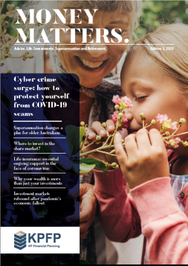 Money Matters Cover